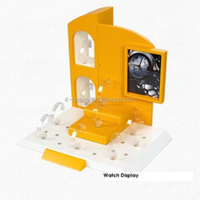 plexiglass vitrine exhibition display watch display stand