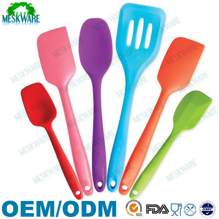 Food grade small silicone utensils/silicone kitchen tools