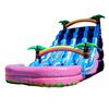 3 lane tropical giant commercial grade inflatable water slides for sale