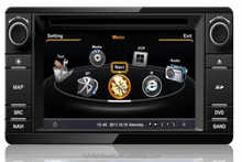 2014 Best-seller S100 Car DVD Player For Mitsubishi Outlander 2013 with GPS A8 Chipset 3 zone POP 3G/wifi BT 20 dics playing