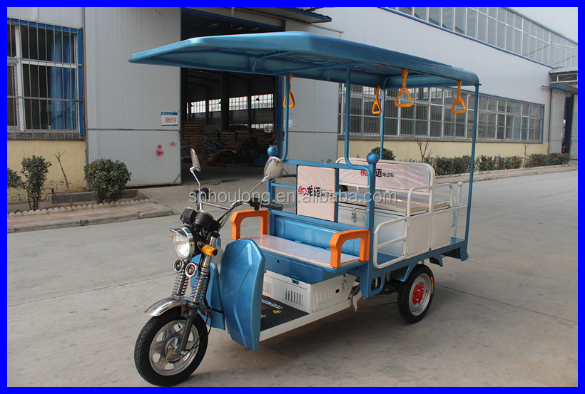 China supplier! Romai e rickshaw models/ auto rickshaw price in india with DC brushless motor