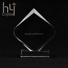 Custom logo factory manufacture sale crystal trophy award ceremony game competition wholesale high quality new design decoration