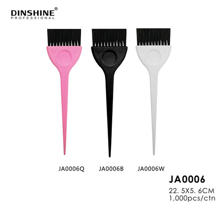 China Manufacturers Mini Hairdresser Silicon Tint Brush