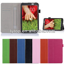 High Quality Handle Wallet Stand Case for LG G Pad 8.3