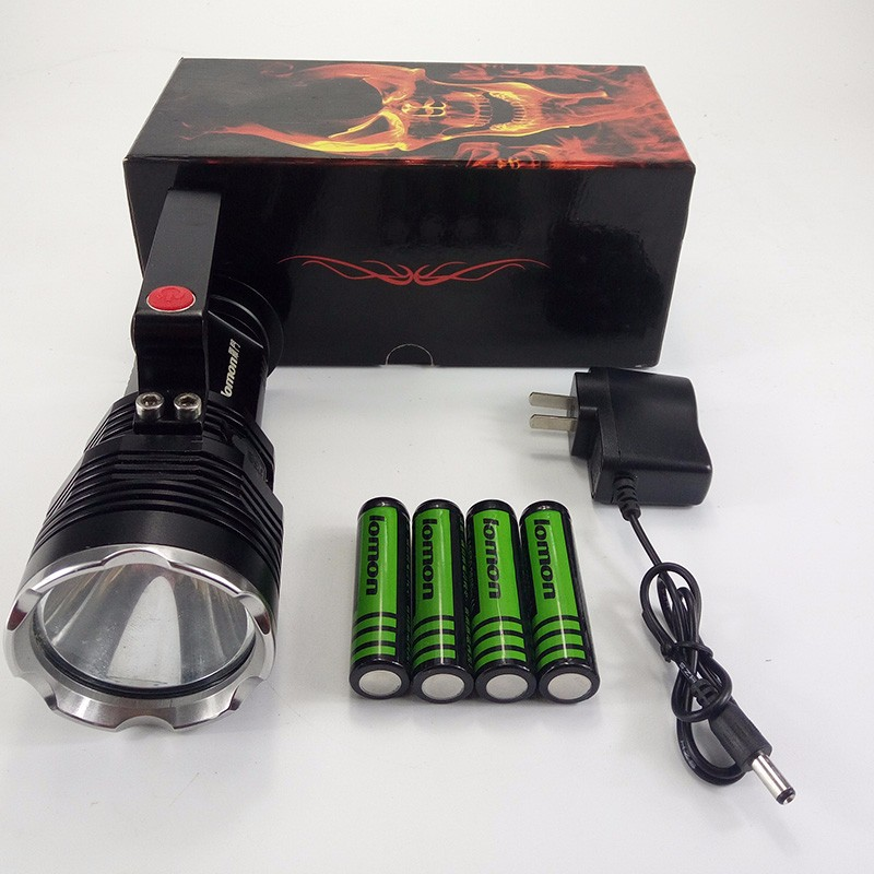 Super Brightness Rechargeable Wholesale High Power Mini Led Marine Searchlight for Military