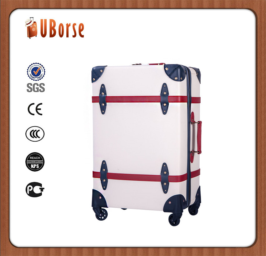 23 inch carry-on luggage suitcase with spinner wheels