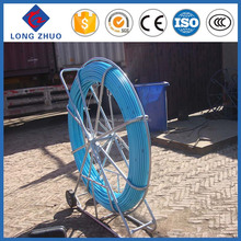 Fiberglass Duct Rod 11mm*300m,Fiber snake duct rodder,cable rods/Galvanized electrical cable reel stands