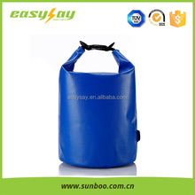 2016 pvc 10L Cold paste waterproof container for swimming,dry bags for camping