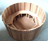 SPA massage system wooden hot tub for family use for sale