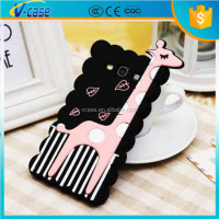 VCASE Unique cute animal shaped silicon phone case for galaxy samsung s3
