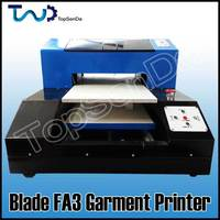 A3 size Digital T-shirt printer Direct to garment textile printing machine