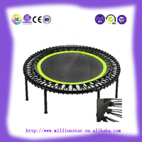 "LS-TR41076 50""=127cm high quality DG Millionstar manufacturer fitness mini trampoline bungee trampoline for sale"