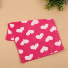 Low Price Kitchen Children Face Hand Towel Cute Animal Rabbit Shape Coral Velvet Soft Wipe Hanging Cleaning Wash Cloth Towel