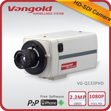 2015 latest HD SDI camera Support WDR 1080P box camera with 3D-DNR, Motion detection