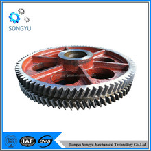 iron customized forging gears of alloy steel carbon steel