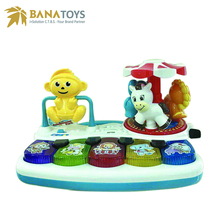 Free shipping 2in1 Funny baby musical toy
