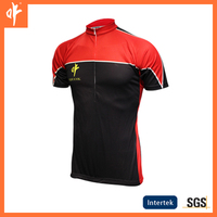sublimation custom cycling jerseys,traditional bicycle wear,simple design road bike shirt,red and black suits