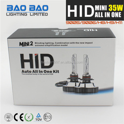 Quality products car hid xenon headlight, hid bi-xenon bulbs headlight projector lens H11, osram hid xenon kit AC 35w