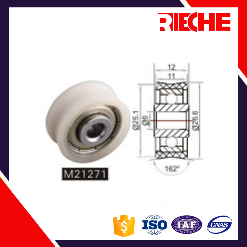 high precision customized pipe roller skating bearings