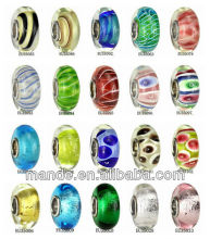 Chinese traditional crafts mixed colour variety of flower pattern high quality lampwork glass beads Support mixed order