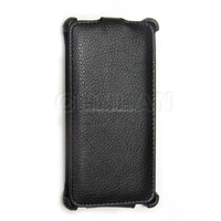 2014 New slim mobile phone flip cover for sony m2 heat forming leather flip case