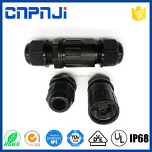 Chinese manufacturer 2-4 pin ip68 waterproof power auto male female cable connector for outdoor led light