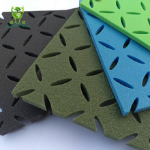 Good shock absorbing 8mm thickness foam shock pad for artificial turf