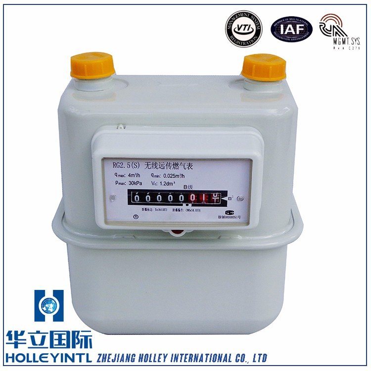 Automatically record the magnetic interference time digital gas meter
