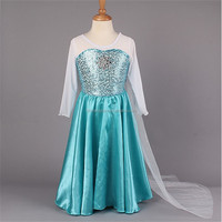 instyles high quality elsa dress for children halloween costumes wholesale used halloween costumes for children sale