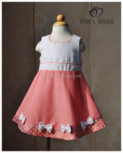 2015 100% cotton birthday-dress-for-3-year-old cheap children casual cotton dress kids summer wear dress