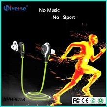 2016 Hot mobile phone accessories super bass earphone with bluetooth 4.1