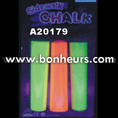 New Novelty Toy Light Up Colorful Fluorescent Jumbo Chalk