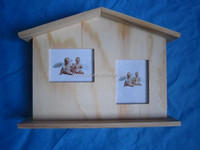 hot design cheap price wooden frame picture positioned for decoration