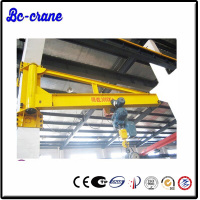 270 degree 360 degree 0.5 ton electrical hoist jib crane 500kg