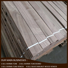 Black walnut wood veneer sales in china for floor and furniture application