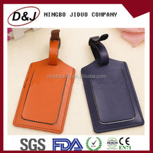 high quality leather baggage tag, luggage tag