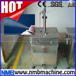 high performance automatic aerosol filling and sealing machine