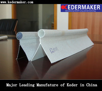 6.5mm KEDER plastic tpe extrusion profile