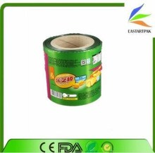 aluminum food grade plastic film food grade plastic film roll/food packaging plastic roll film/aluminum foil laminated roll film