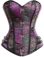 Steampunk Victorian Gothic Shapewear corset Womens Costume Show Girl Corset