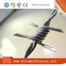 barbed wire length per roll,barbed wire roll price fence