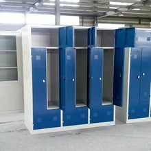 Modern cheap office steel locker cabinet L shape door steel wardrobe locker