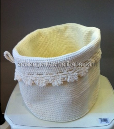 Household Essentials Fabric Basket Folding Craft for Flower Gift
