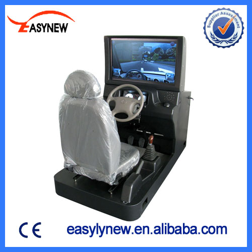car driving simulator for real components teaching smart driving simulator