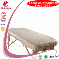 Cheap! Hot sales Disposable Bedsheet disposable bedsheet With Elastic Disposable Non-Woven bedsheet cover/roll