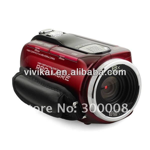 "Vivikai 12MP 2.7"" Swivel TFT LCD HD PRO Camcorder(HD-C4)"