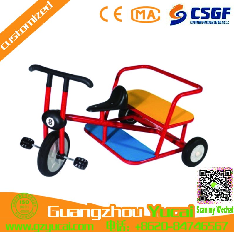 excellent design kids toys bike rickshaw passenger mini buggy tricycle