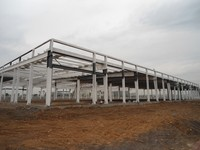 Hotel,House,Office,Warehouse,Guard House,Villa Use And Steel Material Steel Structure Building