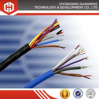copper electrical cable, Copper conductor pvc insulated electric power cable fiber optical wire and cable