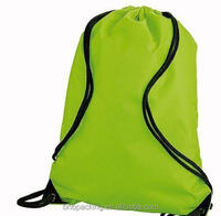 Water Resistant Low MOQ Athletic Drawstring Bags Oxford Cinch Backpack Custom Short Delivery Time